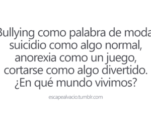 anorexia, frases, and bullying image