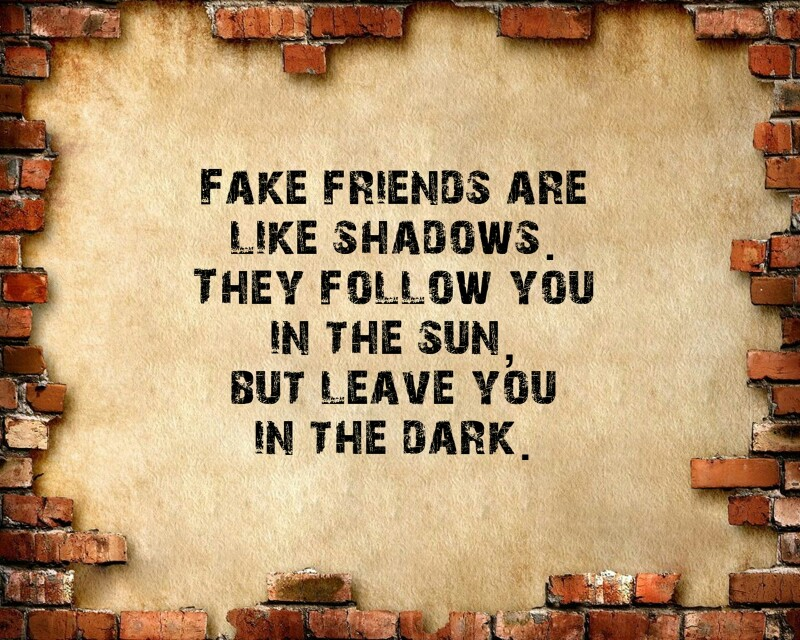 Fake Friends Uploaded By Melodina On We Heart It