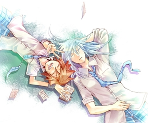 anime, sora, and kingdom hearts image
