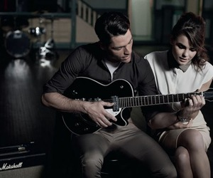 couple, fashion, and music image