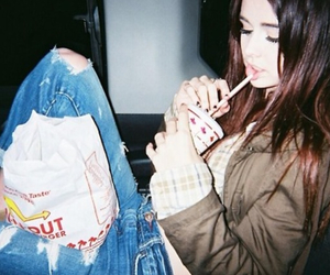 in n out, pale, and model image