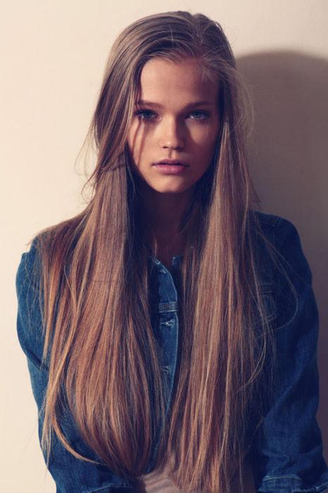 hair, model, and long hair image