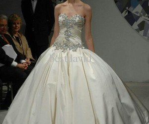 ball gown, beautiful, and silk image
