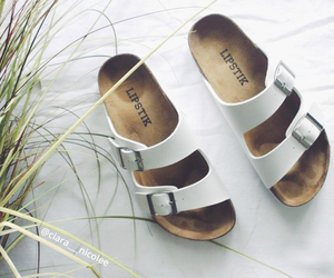 birkenstock, layout, and sandals image
