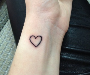 tattoo, heart, and grunge image