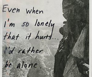 alone, lonely, and black and white image