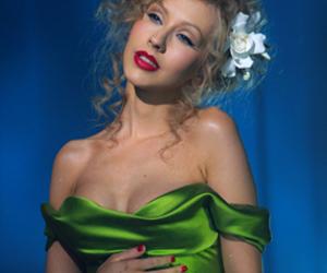 burlesque, christina aguilera, and xtina image