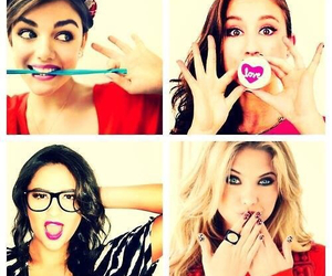 pretty little liars, pll, and girls image