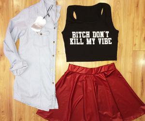 clothes, girl, and rocker image