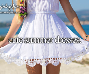 dress, summer, and just girly things image