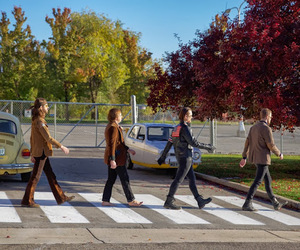 abbey road, on top of the world, and the beatles image