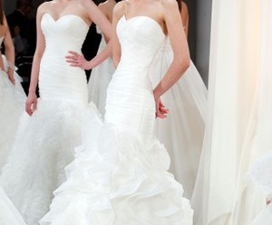 wedding, wedding dress, and kleinfeld image
