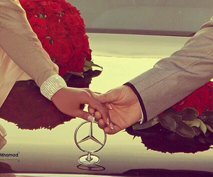 love, couple, and mercedes image