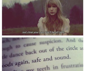 Taylor Swift, safe and sound, and the hunger games image