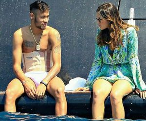 neymar, bruna marquezine, and neymar jr image