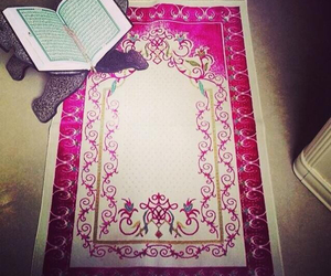 islam, muslim, and prayers image