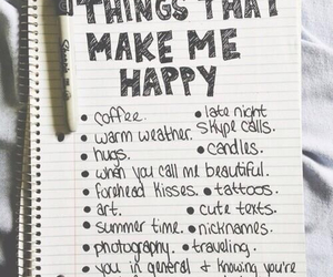 happiness, list, and live image