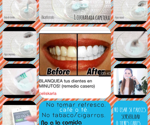 dientes, diy, and dientes blancos image