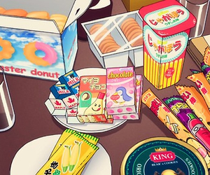 anime and food image