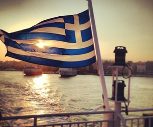 flag, harbor, and proud image