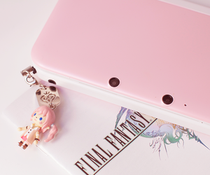 pink, cute, and final fantasy image