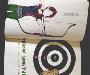 creative, drawing, and katniss image