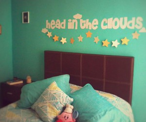 clouds, decor, and diy image