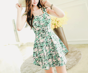 stye, floral dresses, and teen fashion image