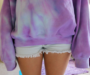 outfit, purple, and tumblr image