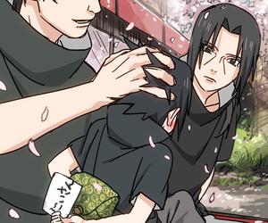naruto, naruto shippuden, and itachi uchiha image
