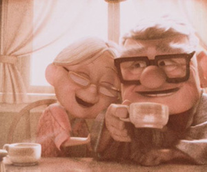 carl, ellie, and up image