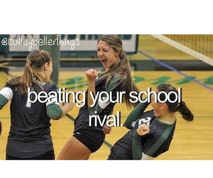 sports, volleyball, and rival image