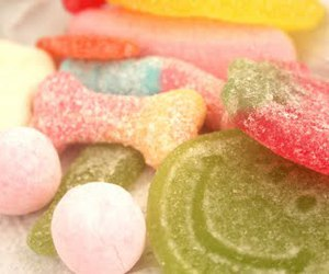 candy, happiness, and smile image