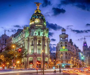 madrid and spain image