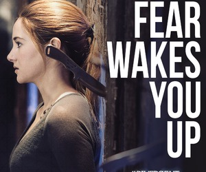 divergent, fear, and tris image