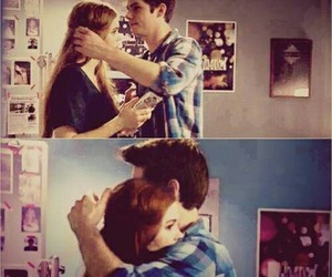 teen wolf, stydia, and hug image