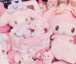 girly, my melody, and pink image