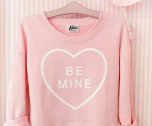 fashion, pink, and be mine image