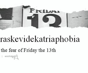 black and white, definition, and fear image