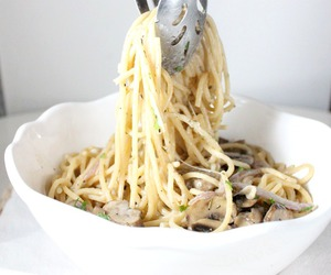 mushroom, mascarpone, and pasta image