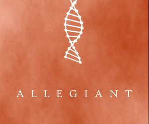 allegiant, veronica roth, and divergent image