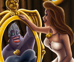 the little mermaid, this, and ursula image