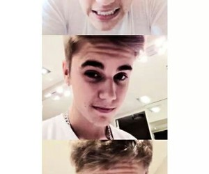 funny face, cute, and justin bieber image