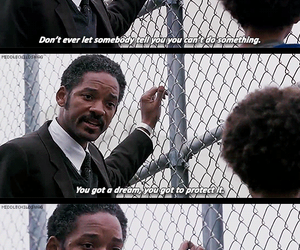 dreams, quote, and will smith image