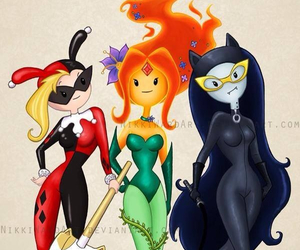 marceline, adventure time, and fionna image