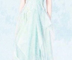 blonde, ice, and dress image