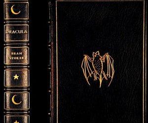 Dracula, book, and bram stoker image