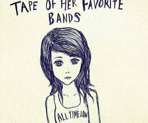 all time low, Lyrics, and lost in stereo image