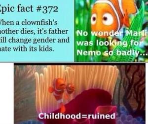 childhood, lol, and nemo image