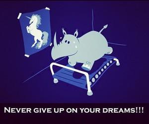 Dream and unicorn image